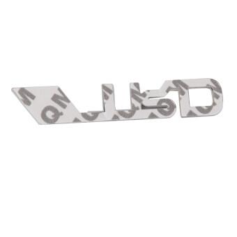 BolehDeals 3D TRD สติกเกอร์ตราสัญลักษณ์โลโก้โลหะโลหะสำหรับ Toyota การตกแต่งรถ (image 3)