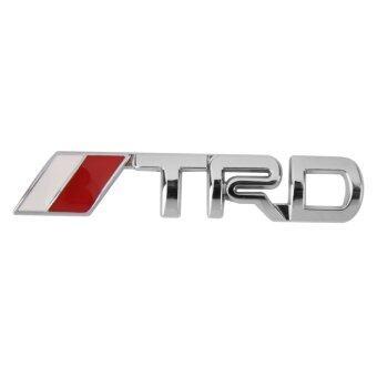 BolehDeals 3D TRD สติกเกอร์ตราสัญลักษณ์โลโก้โลหะโลหะสำหรับ Toyota การตกแต่งรถ (image 0)