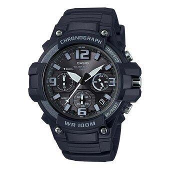 Casio Standard นาฬิกาข้อมือผู้ชาย สายเรซิ่น รุ่น MCW-100H-1A3 image