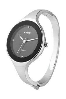BlueLans หญิงเงินนาฬิกาควอทซ์