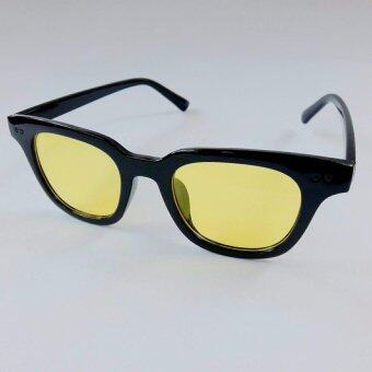 แว่นตาแฟชั่นฤดูร้อน2017 (ทรงเหลี่ยมขอบดำมัน)