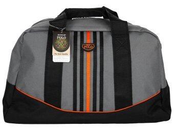 Romar Polo กระเป๋าเดินทาง กระเป๋าสะพาย กระเป๋าถือ 20 นิ้ว รุ่น Sport Curve 73720 (Black Grey)