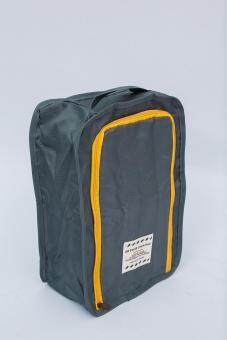 Mori กระเป๋าจัดระเบียบ กระเป๋าใส่รองเท้า ถุงใส่รองเท้า 2 คู่ Shoes Bag Shoes Organizer Bag Organizer (Grey / สีเทา) (image 3)