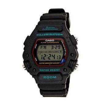Casio Classics นาฬิกาข้อมือ รุ่น DW-290-1V - Black image