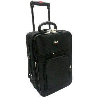BRM กระเป๋าเดินทาง 17 นิ้ว 2ล้อ (สีดำ)