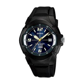 Casio Standard นาฬิกาข้อมือผู้ชาย สายเรซิ่น รุ่น MW-600F-2A image