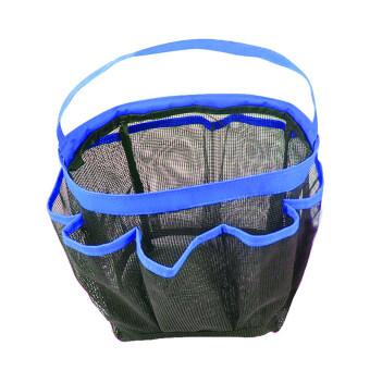 Amango 8 Pocket Portable Quick Dry Travel Tote (Blue/Black)