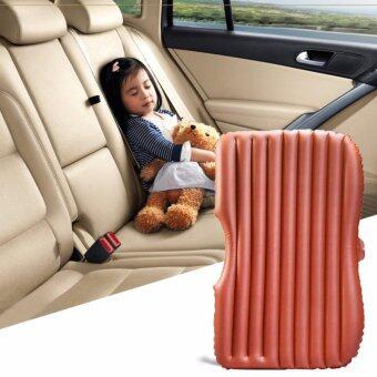Car Air Bed ที่นอนในรถ เปลี่ยนเบาะหลังรถให้เป็นเตียงนอน เบาะนอนในรถ สีครีม