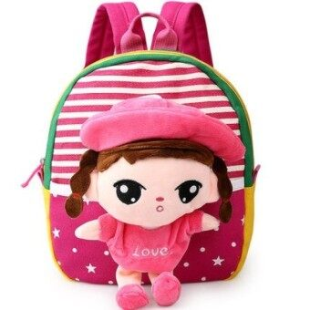 Preschool Plush Backpack Bag