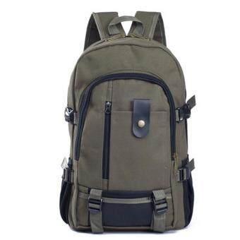 PAlight Canvas Men's Backpacks Outdoor Men Travel Bags Vintage Style Design School Casual Backpack - intl