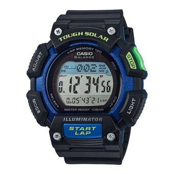 Casio Standard Solar นาฬิกาข้อมือผู้ชาย สายเรซิ่น รุ่น STL-S110H-1B image