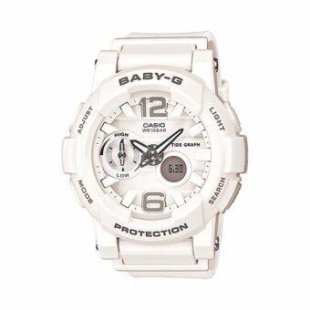 Casio BABY-G G-LIDE รุ่น BGA-180-7B1 - White