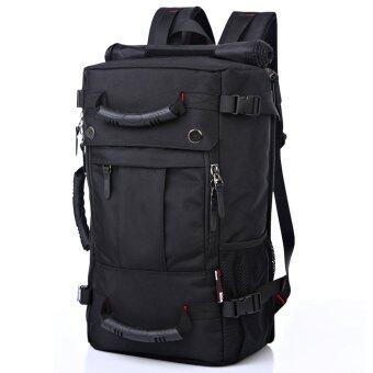 Nifty Well กระเป๋าเป้เดินป่า backpack กระเป๋าเป้สะพายหลัง กระเป๋าเป้เดินทาง กระเป๋าใส่โน๊ตบุ๊ค ความจุ 30L ( สีดำ )