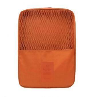Look Good Shop กระเป๋าใส่รองเท้า สำหรับเดินทาง กันน้ำได้ - Orange