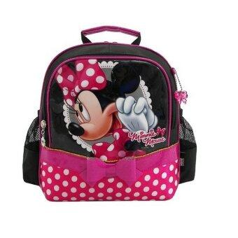 Disney กระเป๋าเป้ Minnie Mouse 9 นิ้ว - Black/Pink