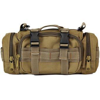 NiftyWelll กระเป๋าคาดอก Wearlink bag 3 in 1 (สีกากี)
