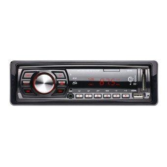 12โวลต์รถวิทยุสเตอริโอเครื่องเล่นวิทยุ Fm โดยอัตโนมัติเครื่องเสียงรถ MP3 รีโมทควบคุม