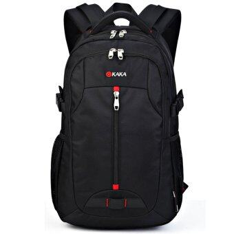 Men's Bags กระเป๋าเป้สะพายหลัง backpack กระเป๋าใส่โน๊ตบุ๊ค Notebook Bags กระเป๋าเดินทาง ความจุ 35L ( สีดำ )