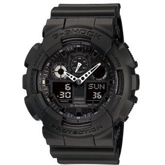 Casio g-shock นาฬิกาข้อมือ รุ่น GA-100-1A1DR(ประกัน CMG) - สีดำ