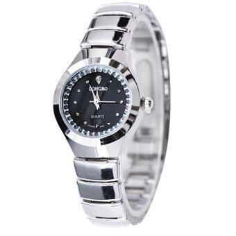 LONGBO Fashion Couple alloy Belt Sport Business Quartz Square Watch Wristwatches 9167 - intl