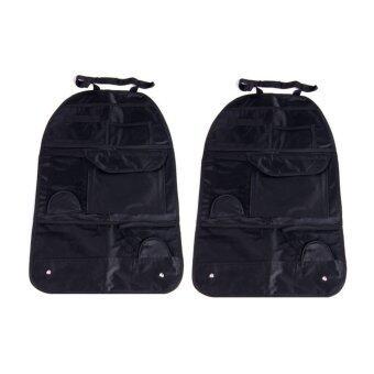 2CAR Back Seat Organizer ที่ใส่สัมภาระหลังเบาะรถยนต์ แพ็ค 2 อัน (สีดำ) (image 0)