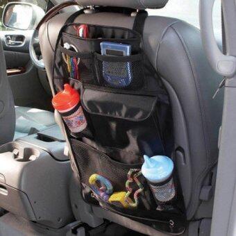 2CAR Back Seat Organizer ที่ใส่สัมภาระหลังเบาะรถยนต์ แพ็ค 2 อัน (สีดำ) (image 2)