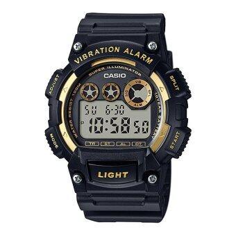 Casio Standard นาฬิกาข้อมือผู้ชาย สายเรซิ่น รุ่น W-735H-1A2V image