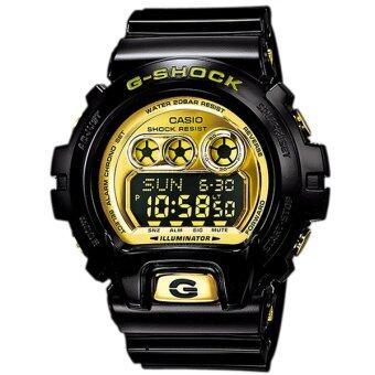 Casio G-Shock นาฬิกาข้อมือผู้ชาย สีดำ สายเรซิ่น รุ่น GD-X6900FB-1 image
