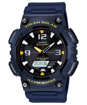 Casio standard Solar Power AQ-S810W-2AV สีน้ำเงิน