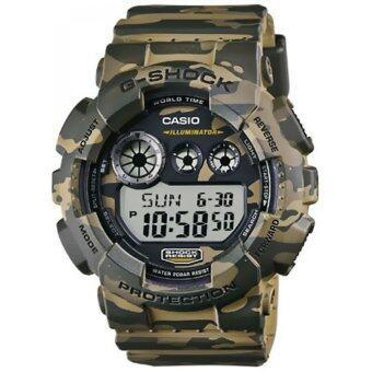 Casio G-shock นาฬิกาข้อมือสุภาพบุรุษ สีน้ำตาล รุ่น GD-120CM-5ADR image