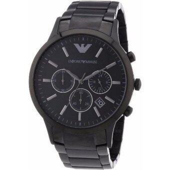 Emporio Armani Men's AR2453 Classic Stainless Steel Black Watch(Black) image