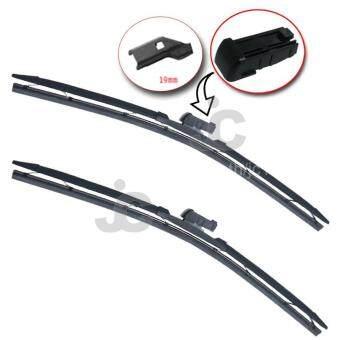 ALLY ใบปัดน้ำฝน รุ่น แอโร่ฟิต 4 สีดำ สำหรับ รถ FORD รุ่น Fiesta/10-15 -ขนาด 26+16 นิ้ว (จำนวน 2ชิ้น)