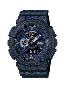 Casio G-Shock Men's Black Resin Strap Watch GA-110DC-1A image