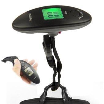 Ucall ที่ชั่งน้ำหนักกระเป๋าหน้าจอดิจิตอล ขนาดเล็ก รุ่น WH-A15 (สีดำ)