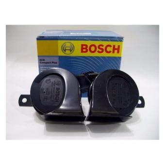 BOSCH เเตรรถยนต์ EC6 Small Size Strong Sound Twin BM Horn วัสดุมีคุณภาพสูง ทนทานทุกการใช้งาน