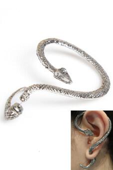 Personalized Snake Shaped Punk Ear Cuff Earrings Hook Stud