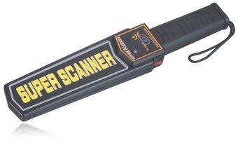 ITandHome Hand Held Metal Detector เครื่องตรวจจับโลหะ แบบมือถือ รุ่น S-49 - สีดำ