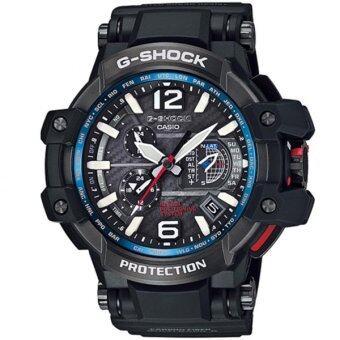 Casio G-Shock นาฬิกาข้อมือผู้ชาย สีดำ สายเรซิ่น รุ่น GPW-1000-1A image