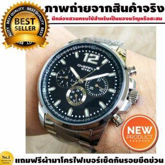 EYKI Overfly นาฬิกาข้อมือผู้ชาย รุ่น EYKI DAYTANA - Black หน้าปัดสีดำ ตัวเรือน Stainless image