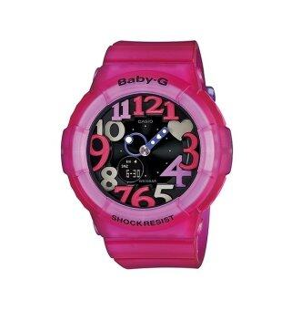 CASIO BABY-G นาฬิกาข้อมือ รุ่น BGA-131-4B4 - สีดำ/ชมพู