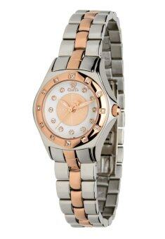 CLETA Manta Ray Women's Watch รุ่น CL10204 - Silver/Rose Gold