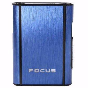 Shop Jung กล่องอลูมิเนียม ใส่บุหรี่ พกพา LAVIDA FOCUS รุ่น 000259-2 Blue