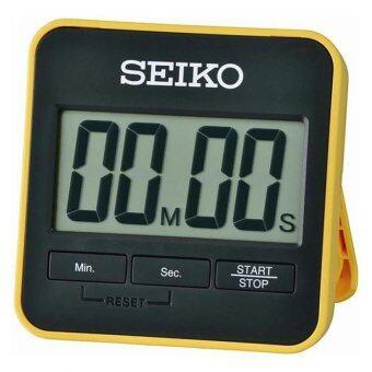 SEIKO DIGITAL TIMER นาฬิกาจับเวลาถอยหลังพร้อมขาตั้ง รุ่น QHY001Y