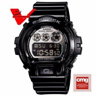 CASIO G-SHOCK นาฬิกาข้อมือผู้ชาย สายเรซิ่น รุ่น DW-6900NB-1DR