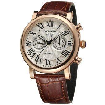 Forsining Men's Automatic Calendar Wrist Watch FSG9407M3R1 image