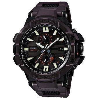 (IMPORT) Casio G-Shock Gravity Masters Black Resin Band Wristwatch GW-A1000FC-5 Black