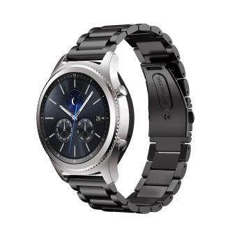 Ishowmall Precision Stainless Steel Bracelet Watch Band Strap For Samsung Gear S3 Classic/Frontier - intl