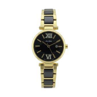ALBA นาฬิกา AH7H12X Black
