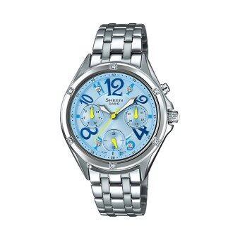 Casio Sheen Chronograph นาฬิกาข้อมือ รุ่น SHE-3031D-2A