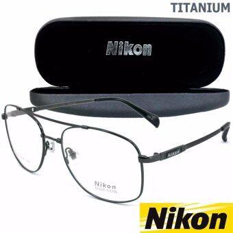 Nikon แว่นสายตา รุ่น NC-3069 สีเทา TITANIUM NICKEL FREE(ขาข้อต่อ)MADE IN JAPAN